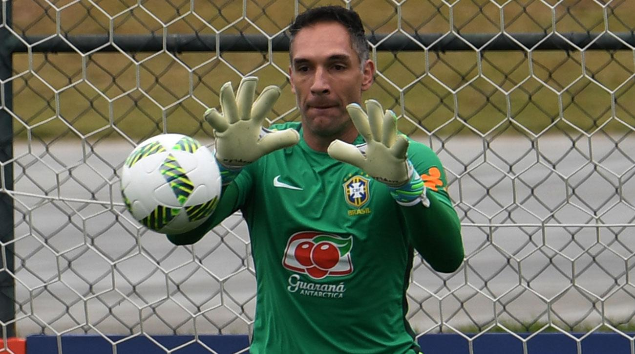 Brazil goalkeeper Fernando Prass is out for the Olympics