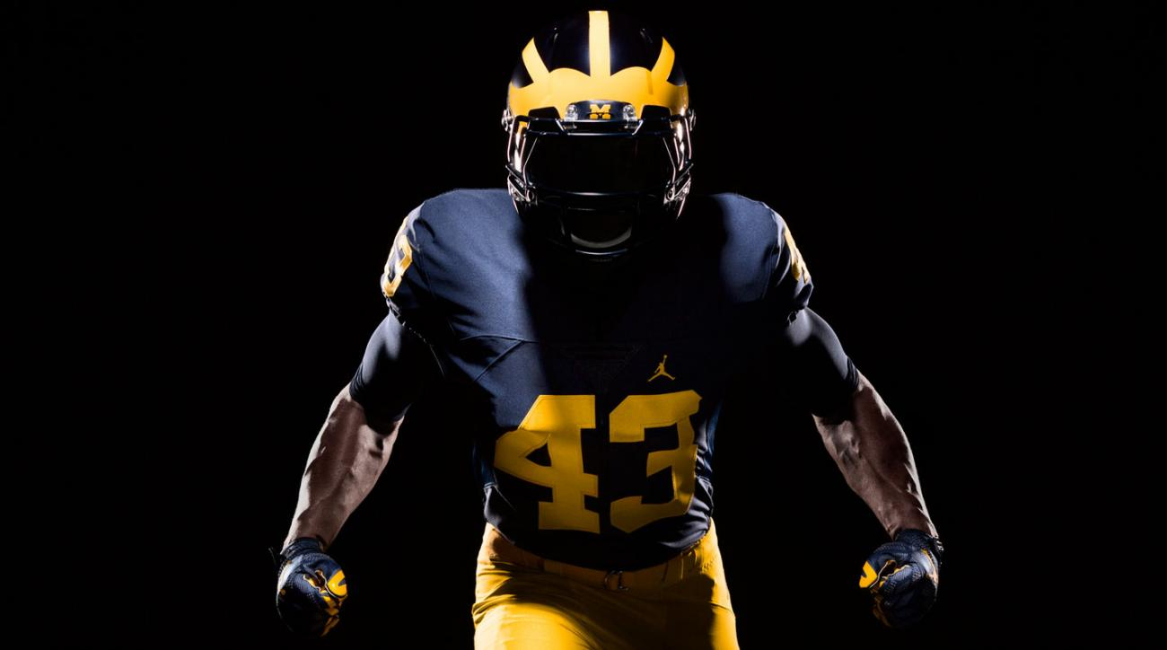 f3475ac04ba56 Michigan football uniforms: new Jordan Brand look unveiled | SI.com