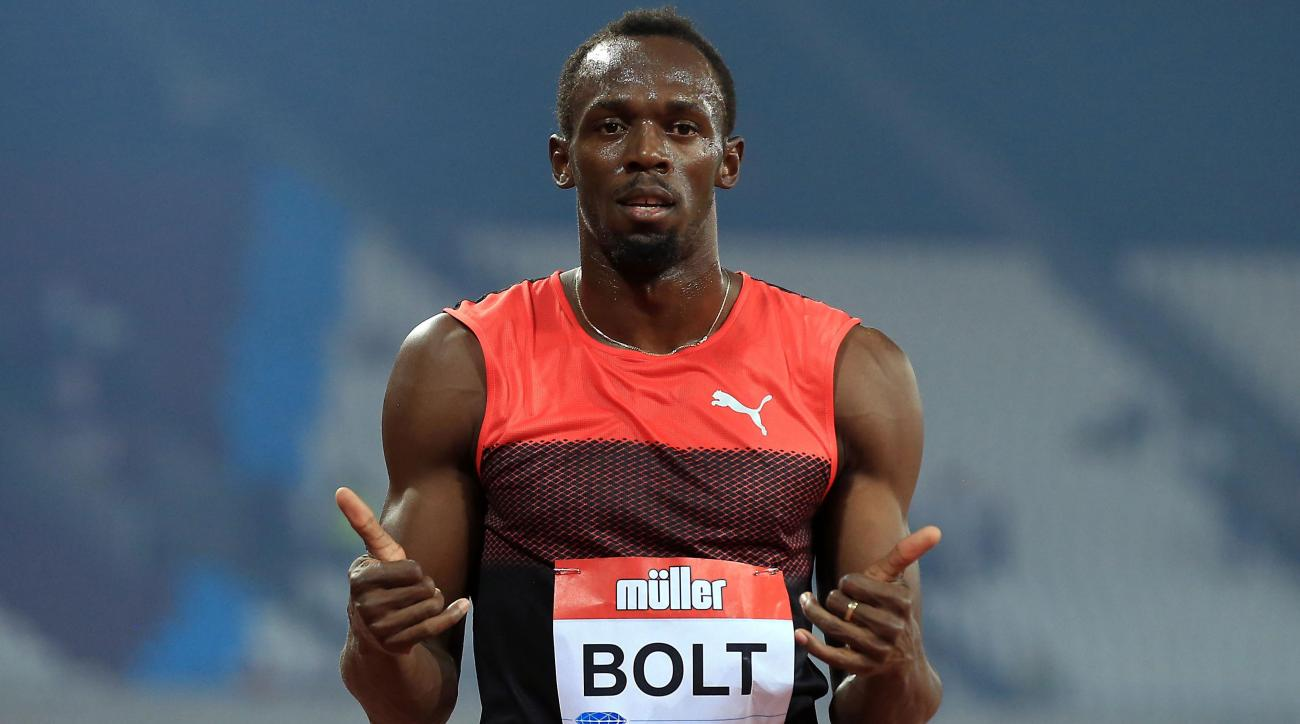 usain bolt run mile olympics
