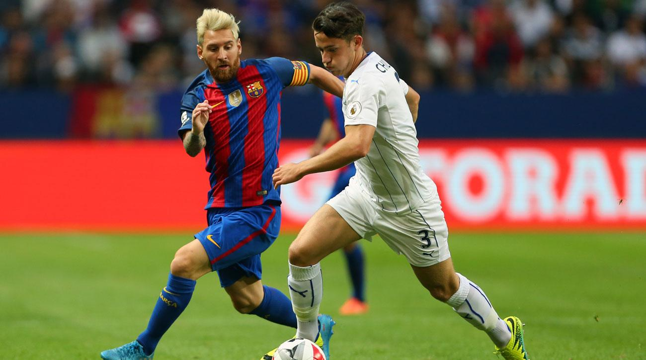 Barcelona takes on Leicester City in the ICC
