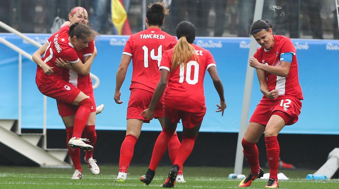 canada fastest goal olympics history