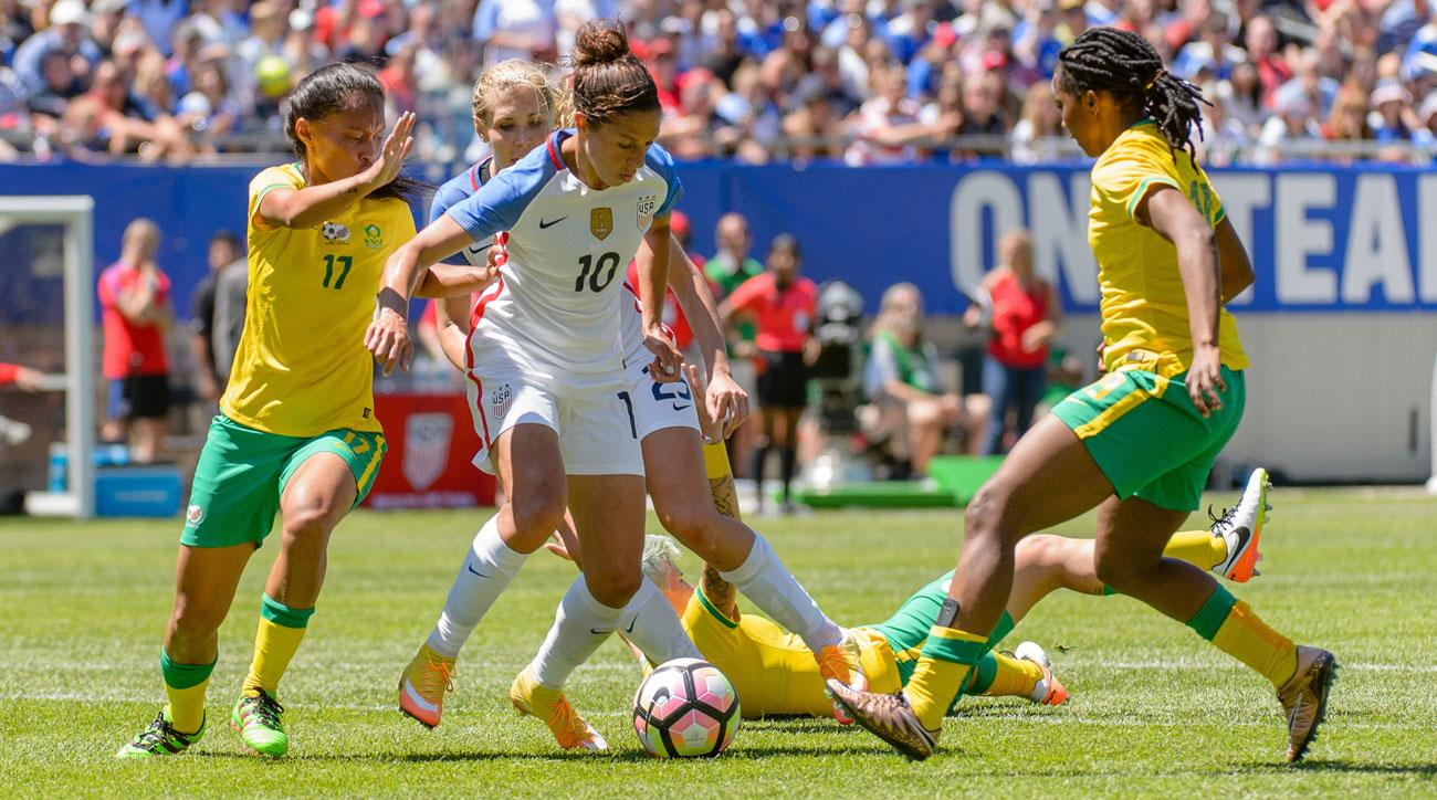 Carli Lloyd leads the U.S. women's national team at the Rio Olympics