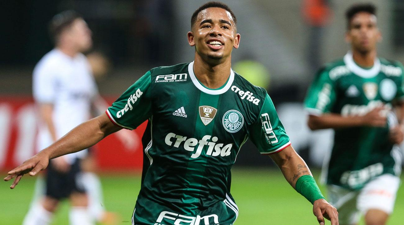 Gabriel Jesus leaves Palmeiras for Manchester City