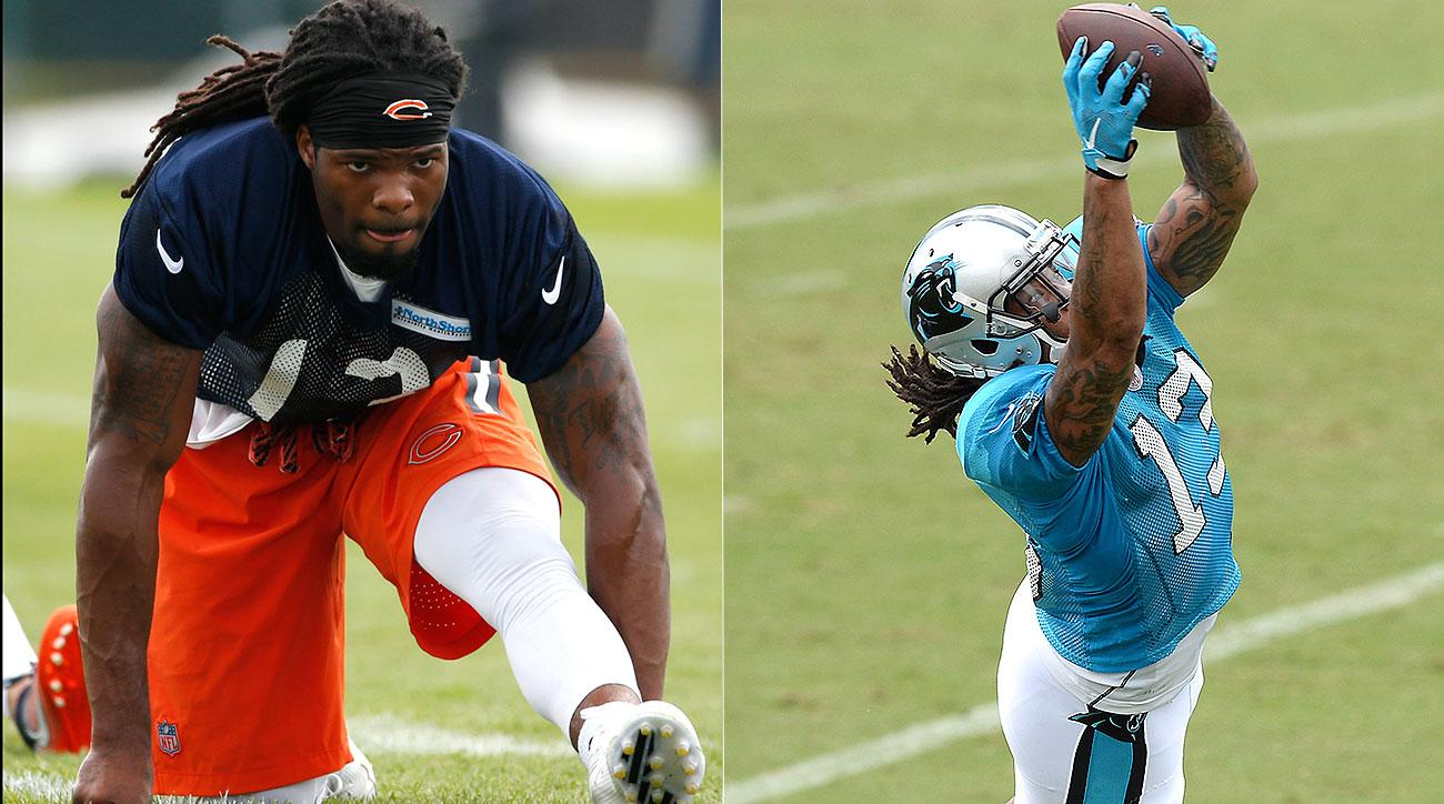 Kevin White, Kelvin Benjamin reflect on 2015 injuries for Bears, Panthers