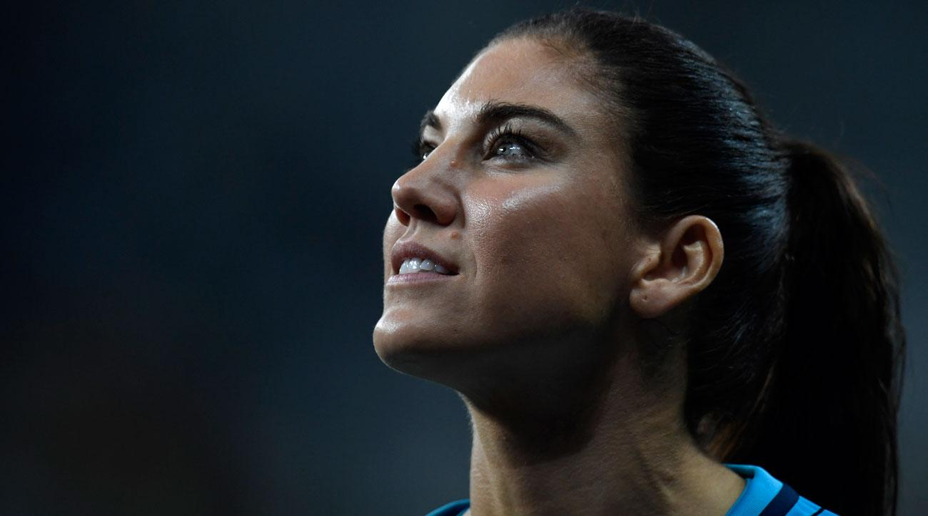 Hope Solo was booed by Brazil fans for her social media post about Zika
