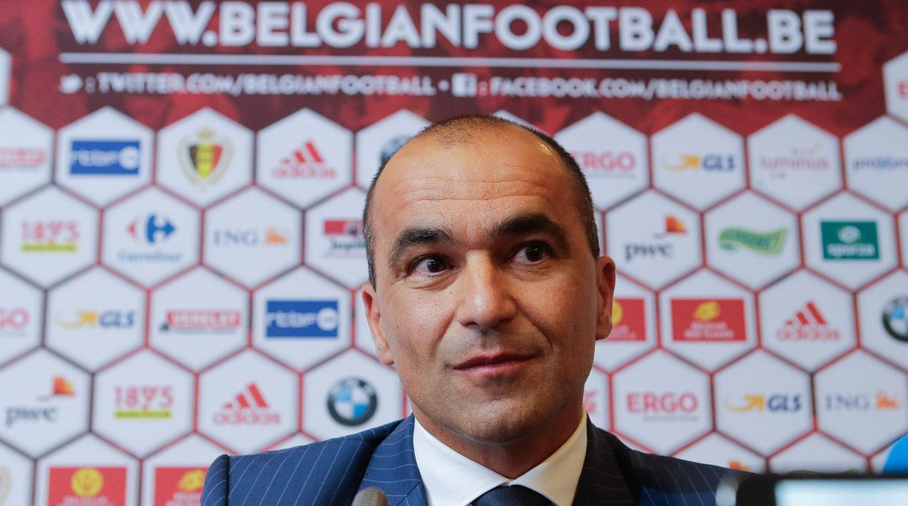 Roberto Martinez is Belgium's new manager