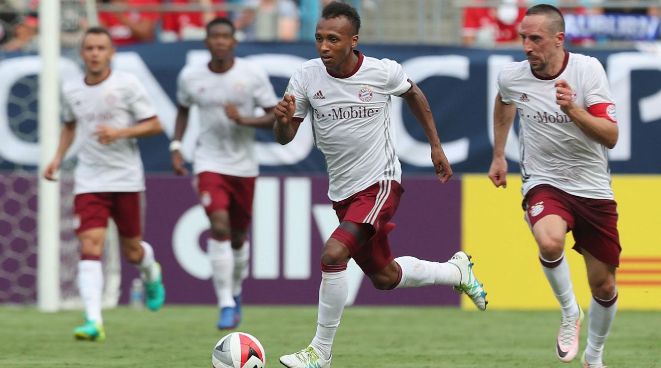 Julian Green enjoyed success for Bayern Munich during its preseason