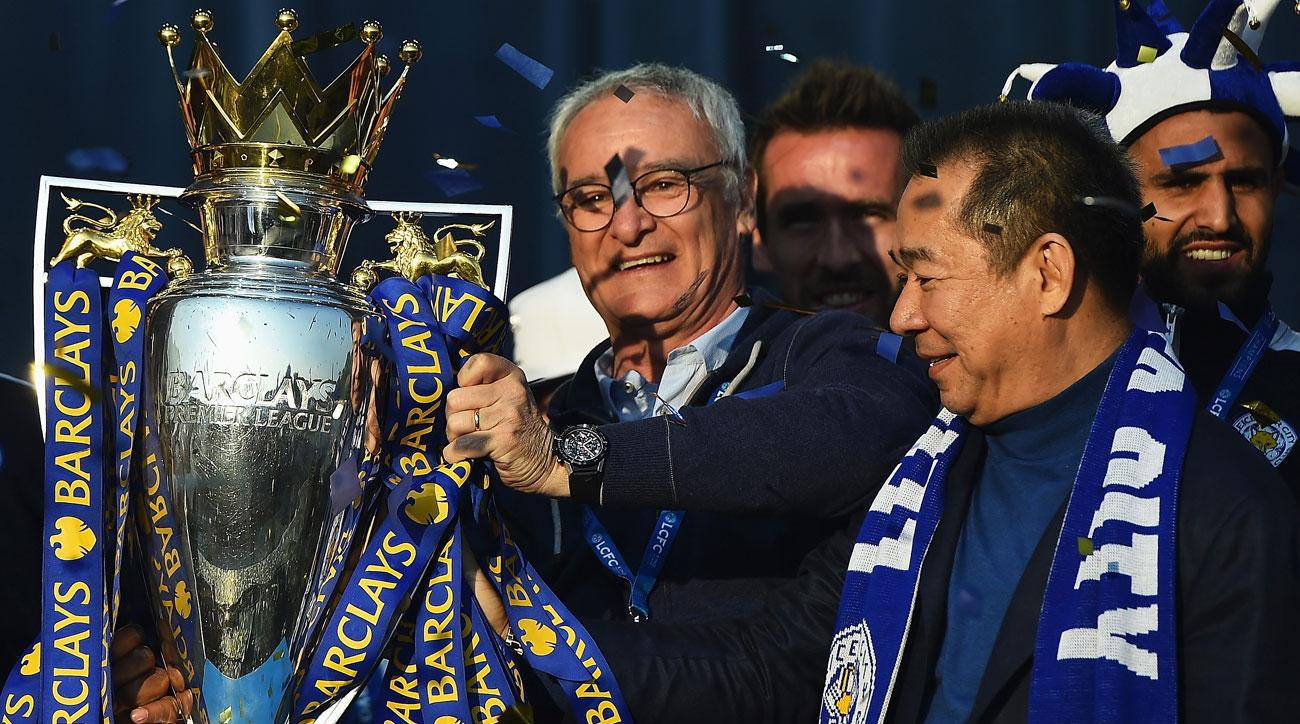 Leicester City's owner presented his players with BMWs for winning the Premier League