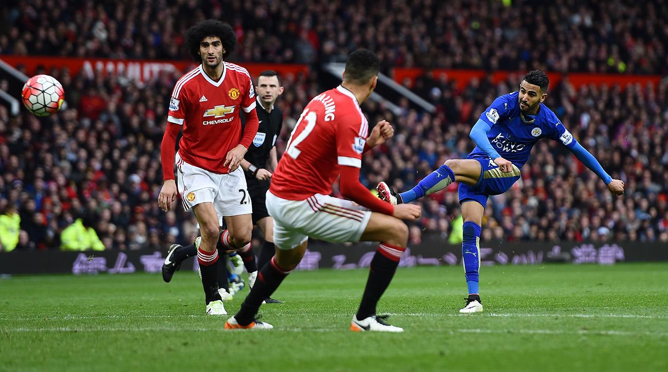 Image result for Manchester United vs Leicester City live pic