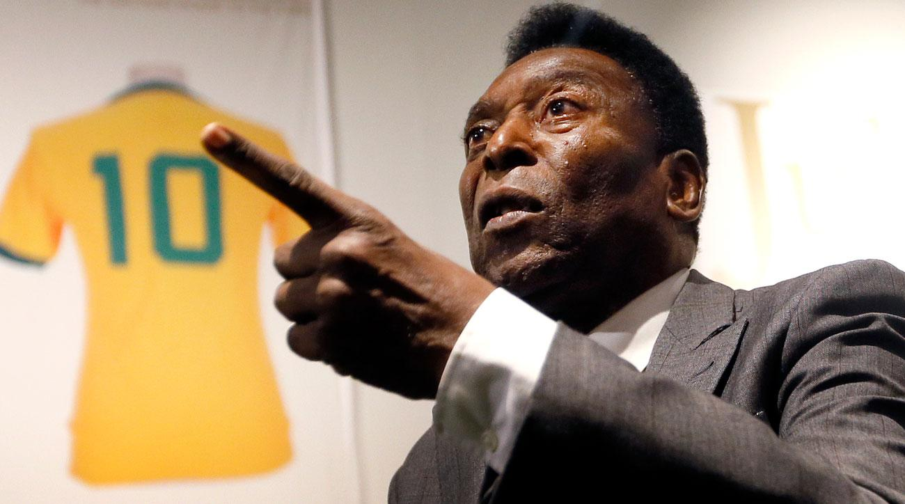 Pele won't attend the Olympics opening ceremony citing poor health