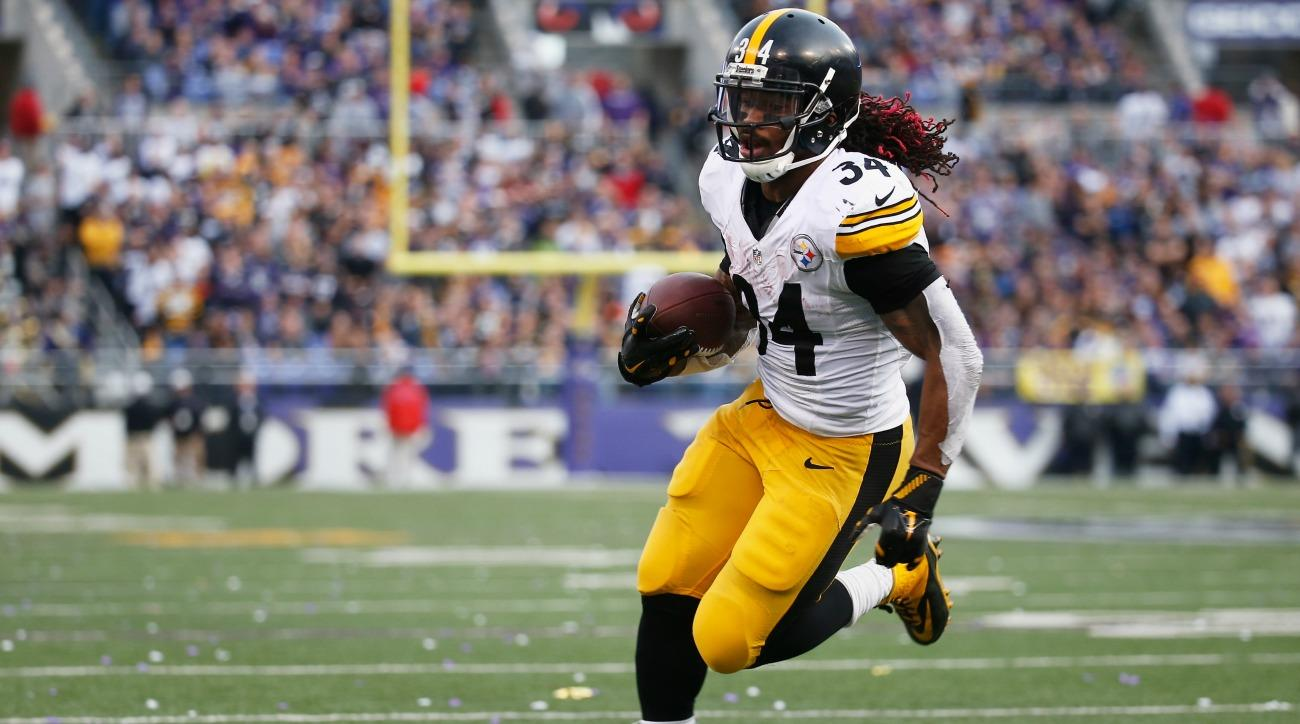 The Steelers filled DeAngelo Williams room with balloons