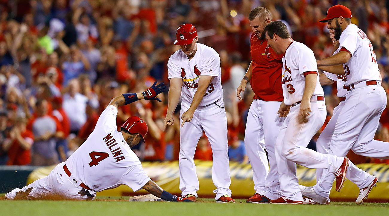 St Louis Cardinals Yadier Molina