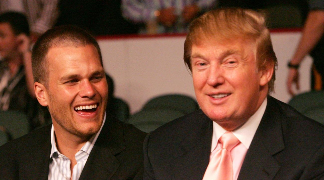 Donald Trump praises Tom Brady from the campaign trail
