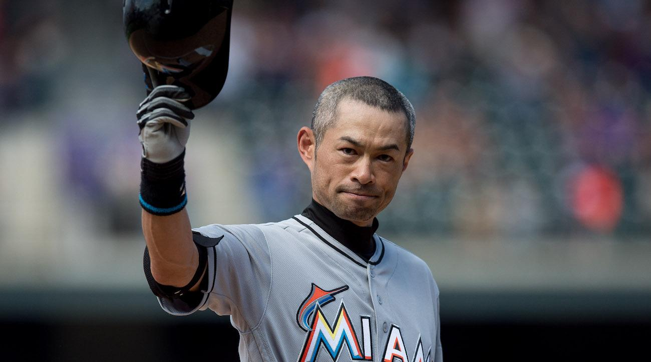 ichiro justin bour marlins jokes video