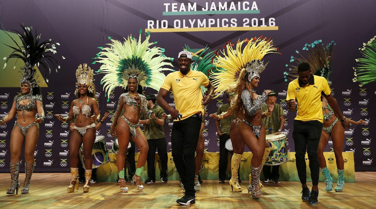usain bolt rio olympics samba video