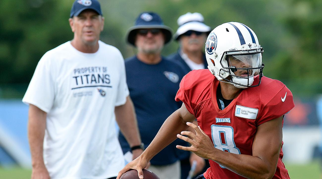 Coach Mike Mularkey is asking Marcus Mariota and the Titans to play a more physical brand of football in 2016.