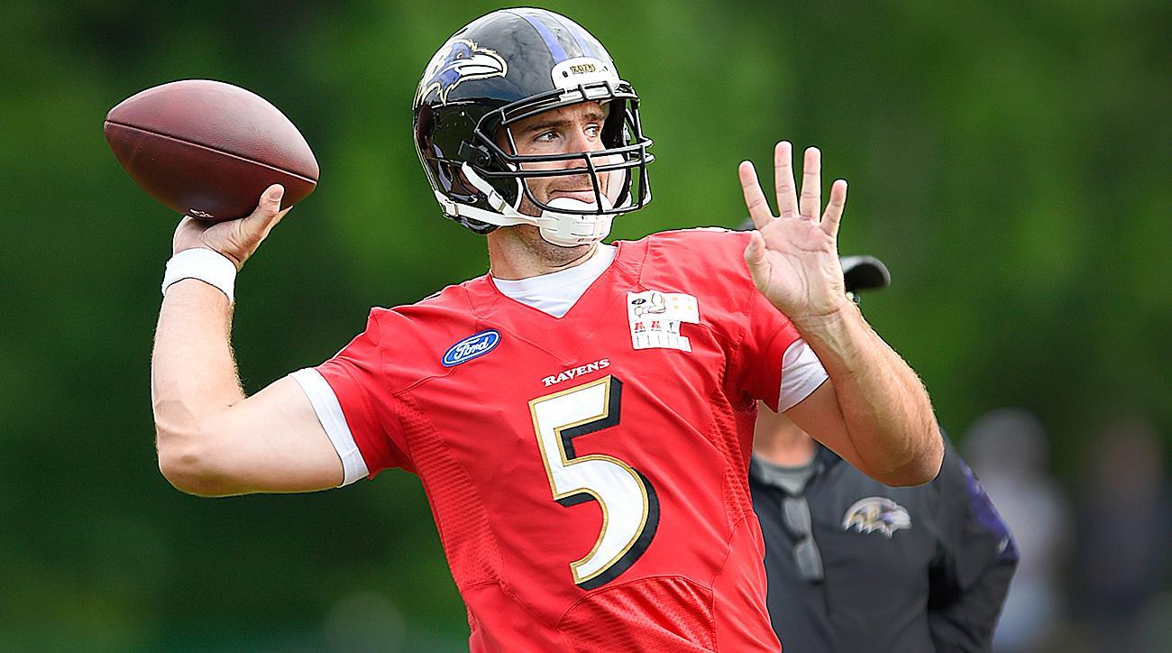 Ravens training camp: Joe Flacco