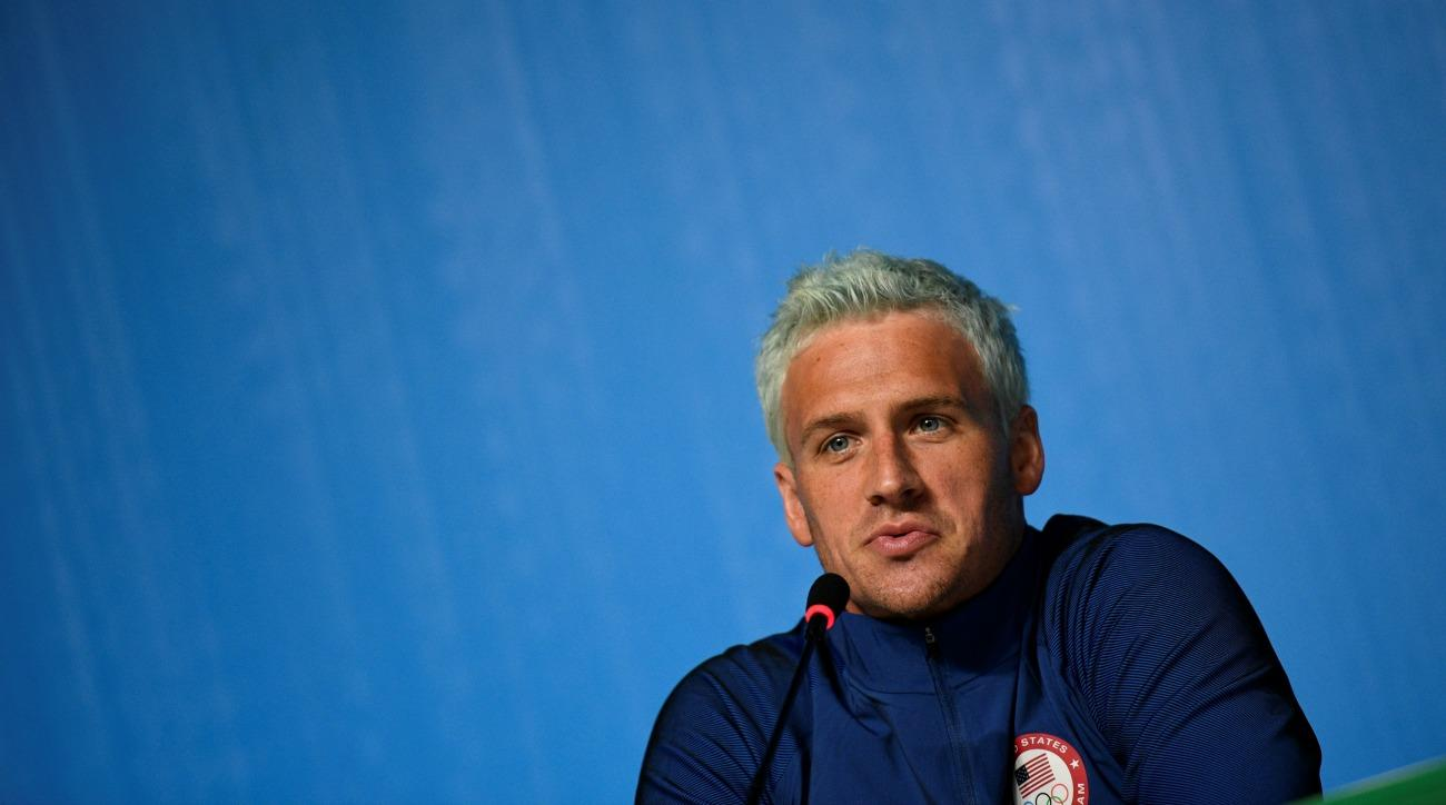 Ryan Lochte's grandmother carries homemade olympic torch