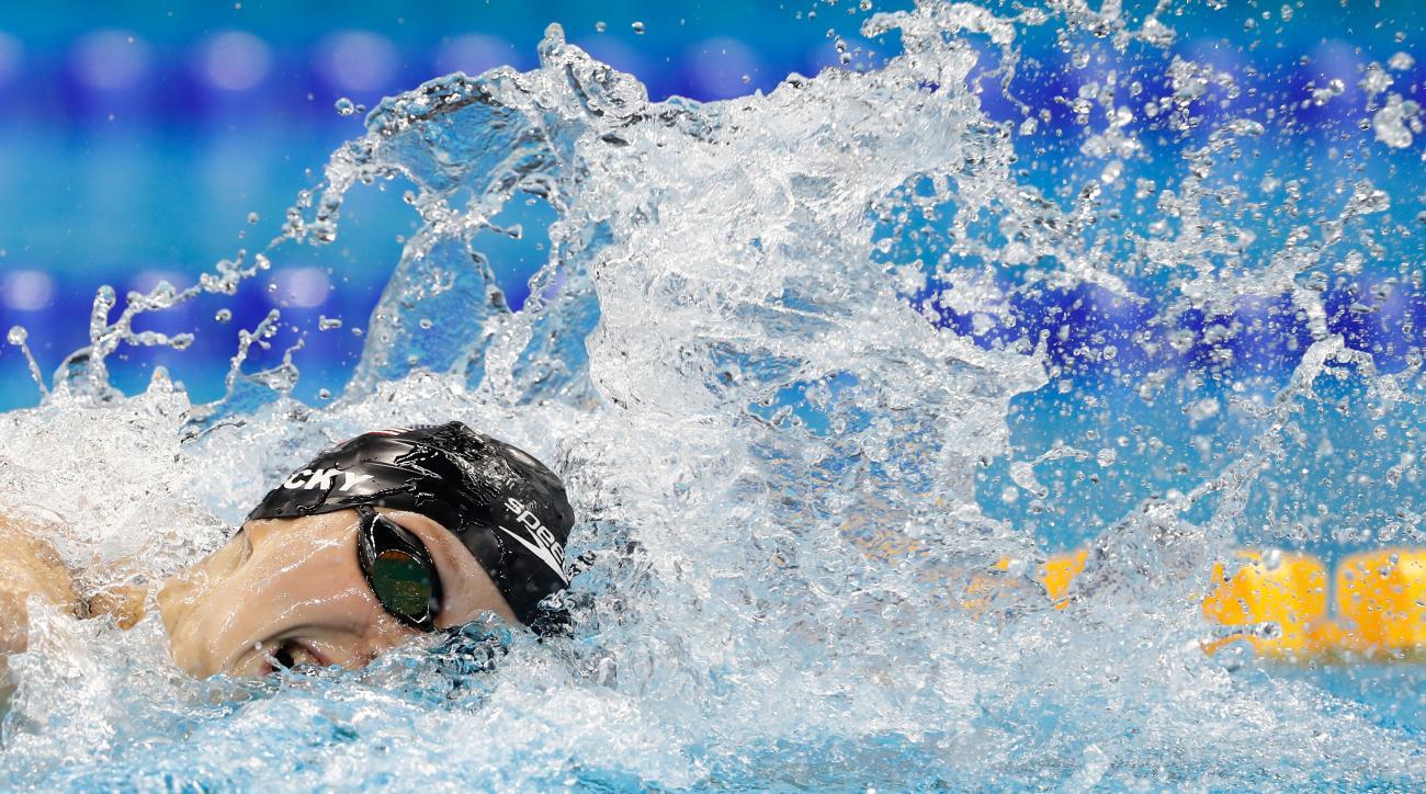 katie ledecky olympics rio gold relay