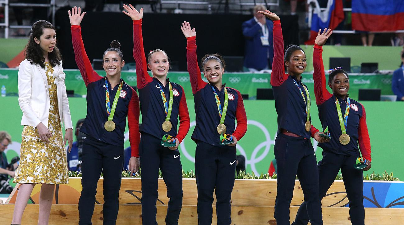 final five simone biles kids youth sports rio 2016 olympics games
