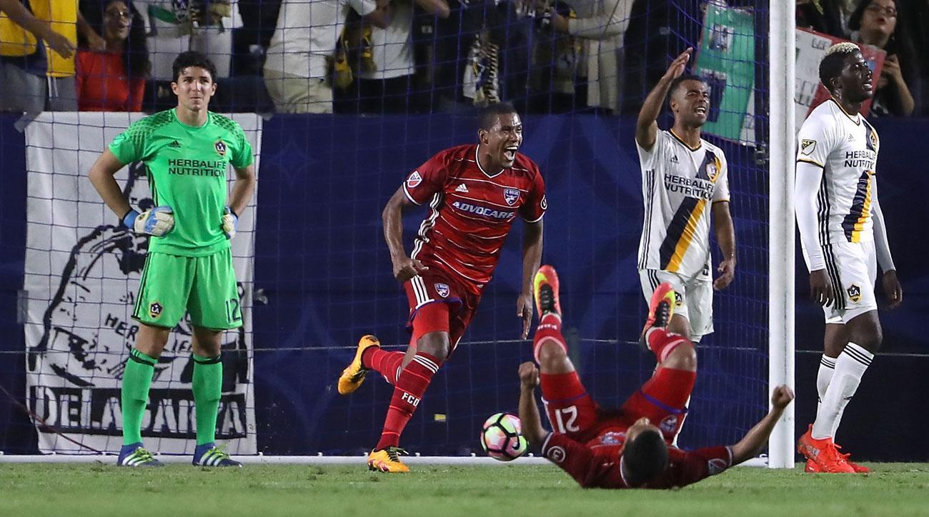 FC Dallas wins its U.S. Open Cup semifinal against the LA Galaxy