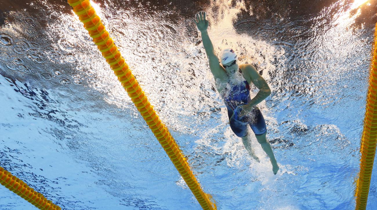 katie ledecky olympics record 800 freestyle