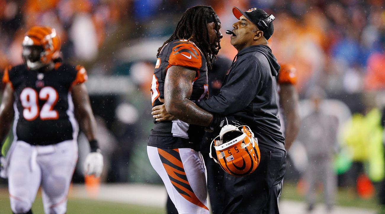 Vontaze Burfict's personal foul late in the wild-card loss to the Steelers helped leave Marvin Lewis and the Bengals 0-5 in the past five postseasons.