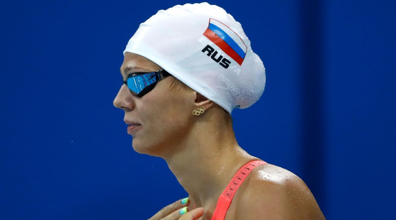 yulia efimova michael phelps banned