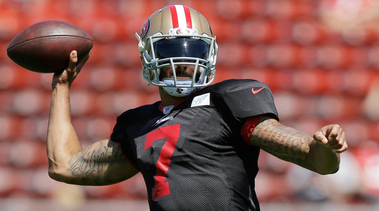 Live from Santa Clara: 49ers quarterback battle tilting away from Colin Kaepernick