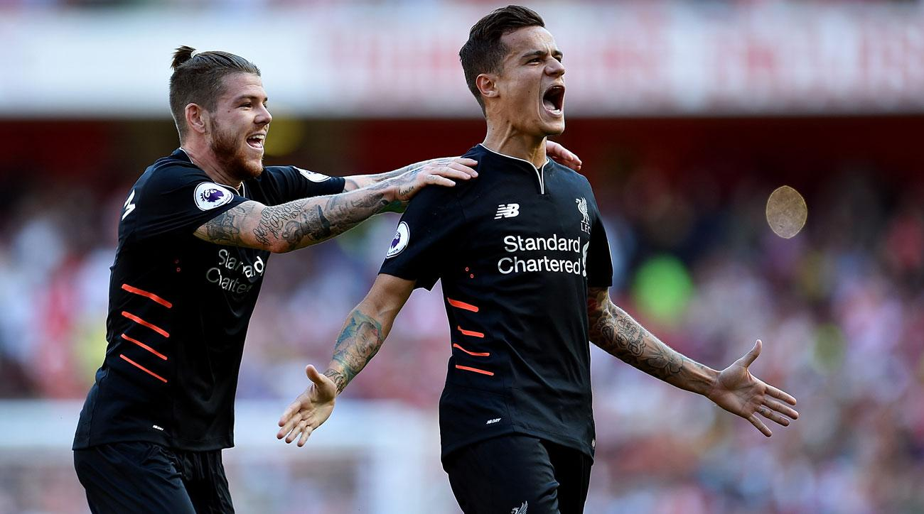 Philippe Coutinho starred for Liverpool against Arsenal