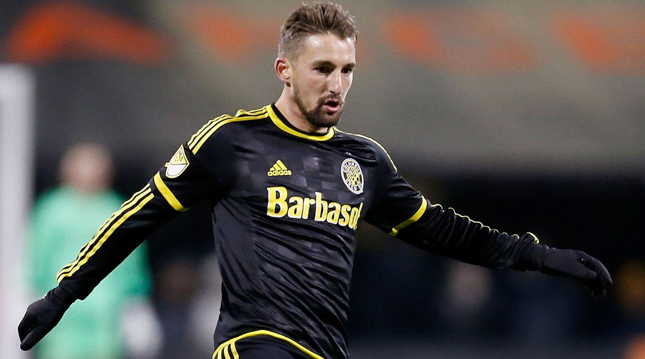 Ethan Finlay scored a late equalizer for Columbus against NYCFC