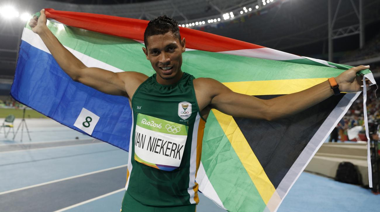 usain bolt wayde van niekerk race quote