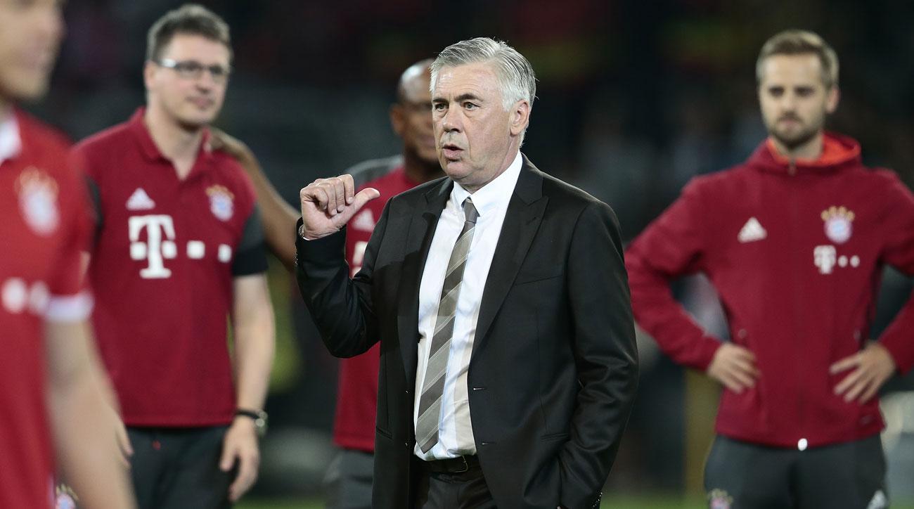 Bayern Munich's Carlo Ancelotti joins the Planet Futbol Podcast