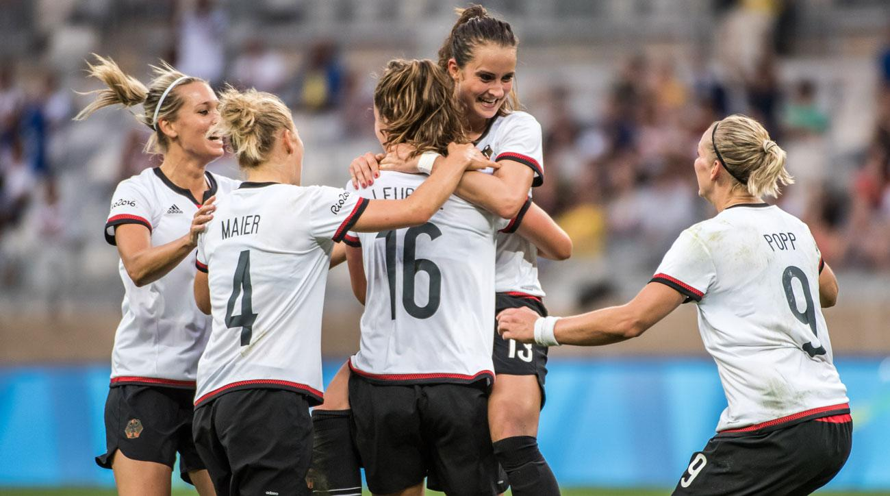 Germany beats Canada to reach the Olympic gold medal game in women's soccer