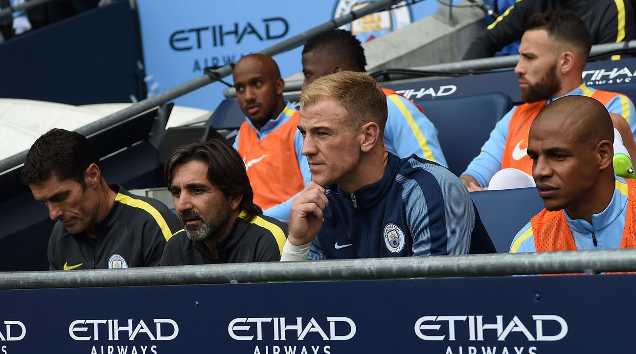 Joe Hart is rumored to be on his way out of Manchester City