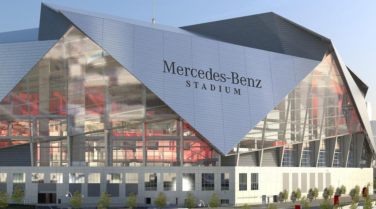 Exploring technology in falcons 39 mercedes benz stadium for Who owns mercedes benz stadium