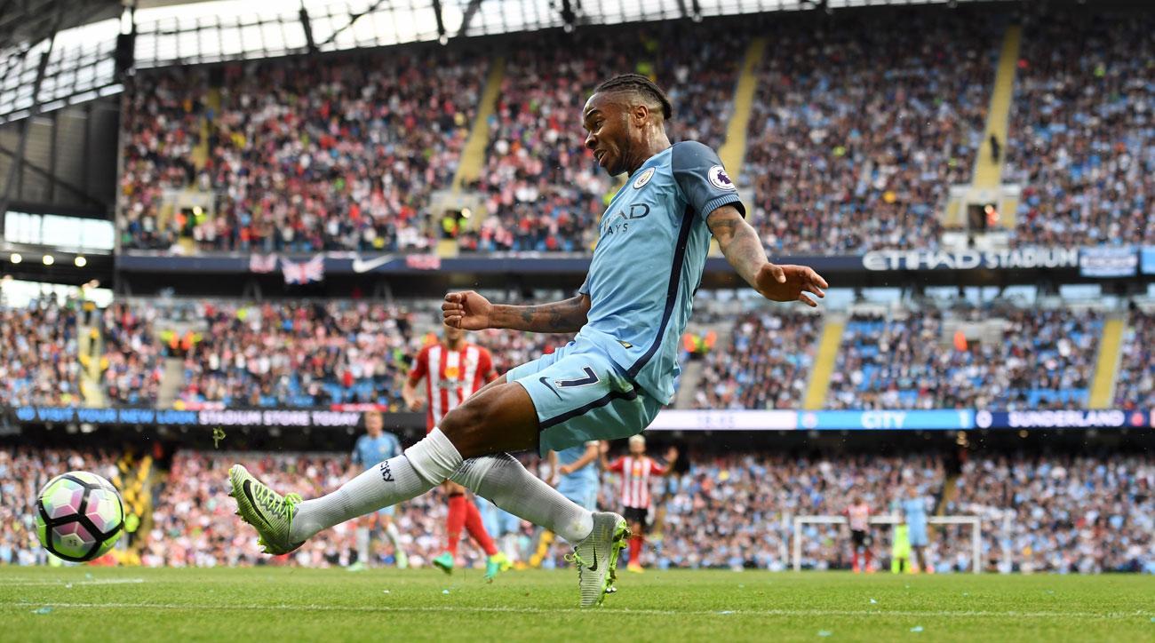 Raheem Sterling has impressed Pep Guardiola early on