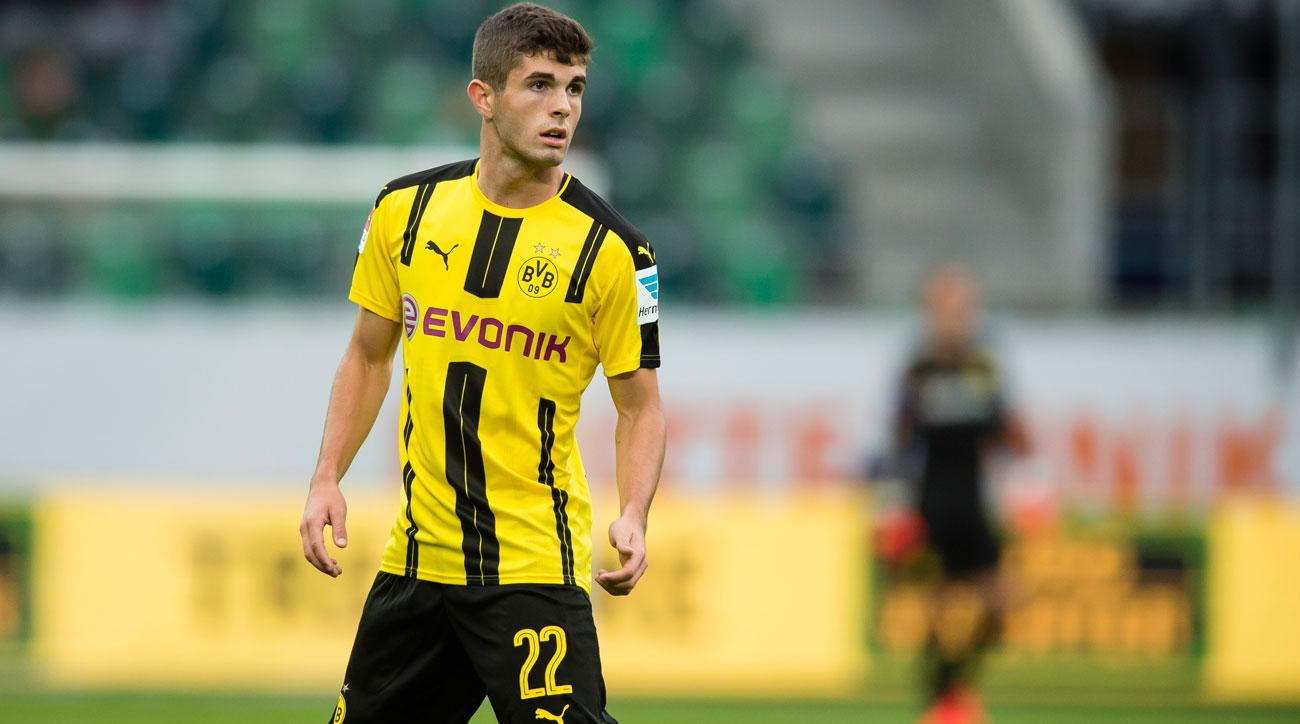 Christian Pulisic enters his second season with Borussia Dortmund's first team