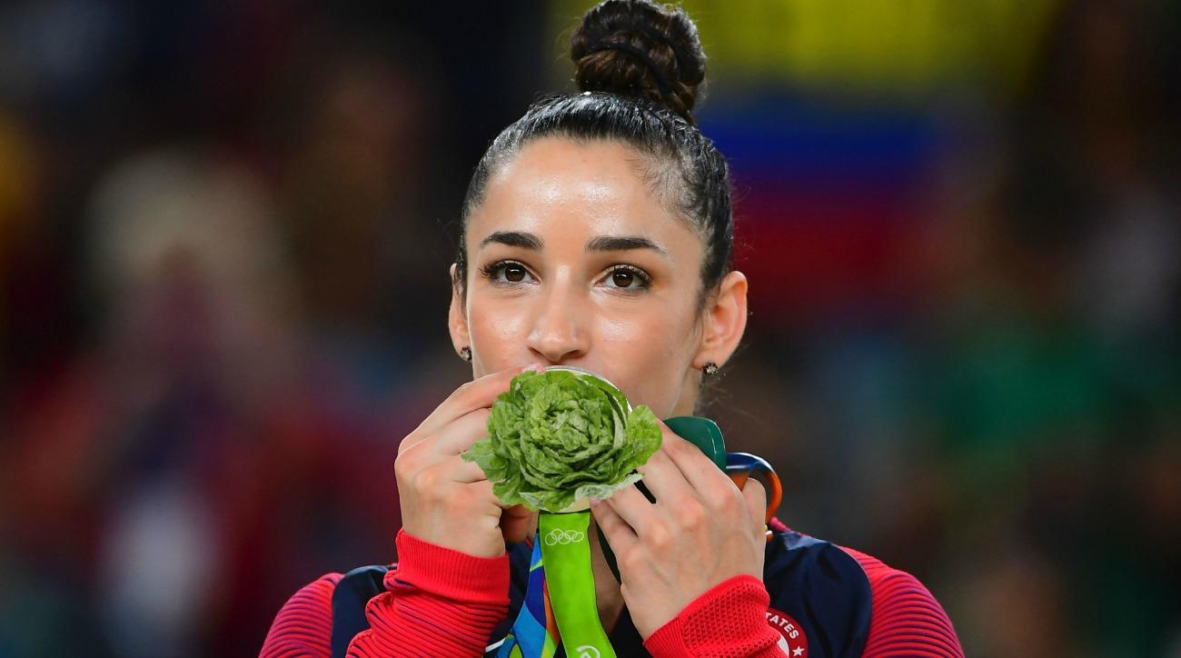 Olympic star Aly Raisman has some eating advice for Michelle Obama