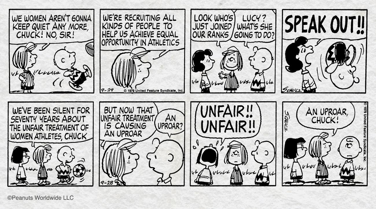peppermint patty charlie brown charles schulz peanuts