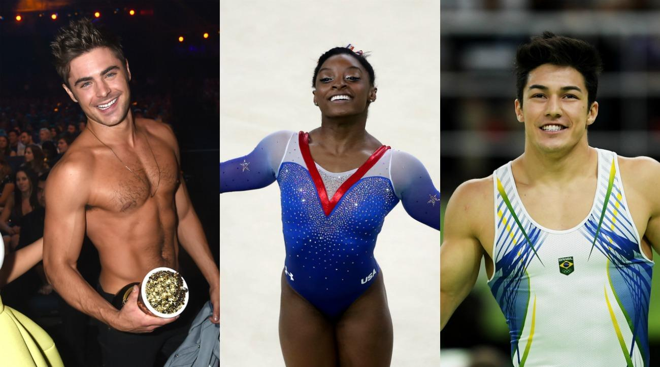 Simone Biles is in the middle of an Olympic Hollywood love triangle