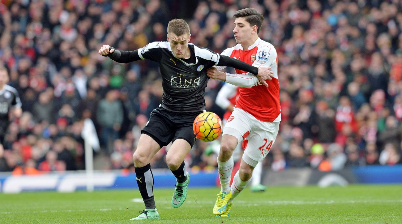 Leicester City and Arsenal meet in a matchup of last season's top two finishers in the Premier League