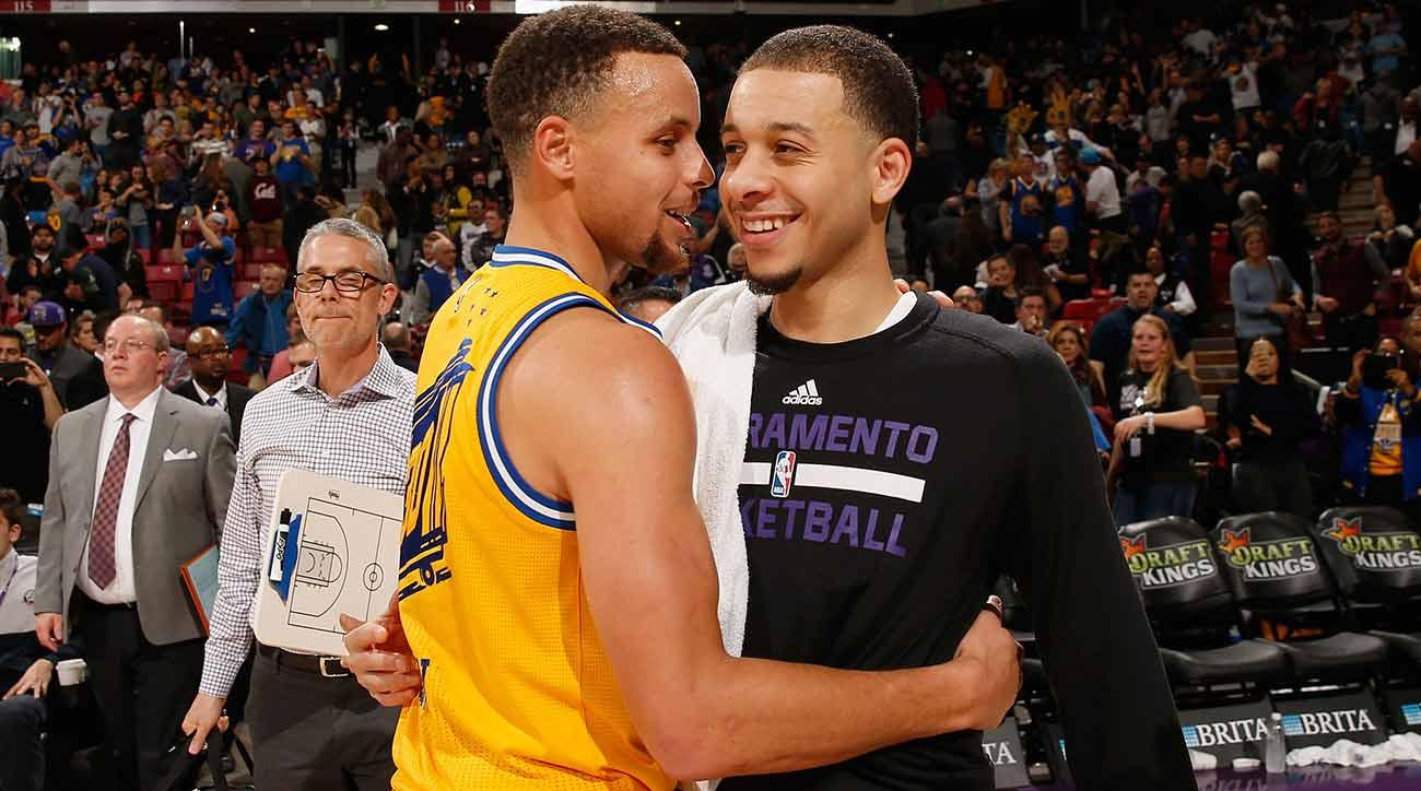 Stephen and Seth Curry