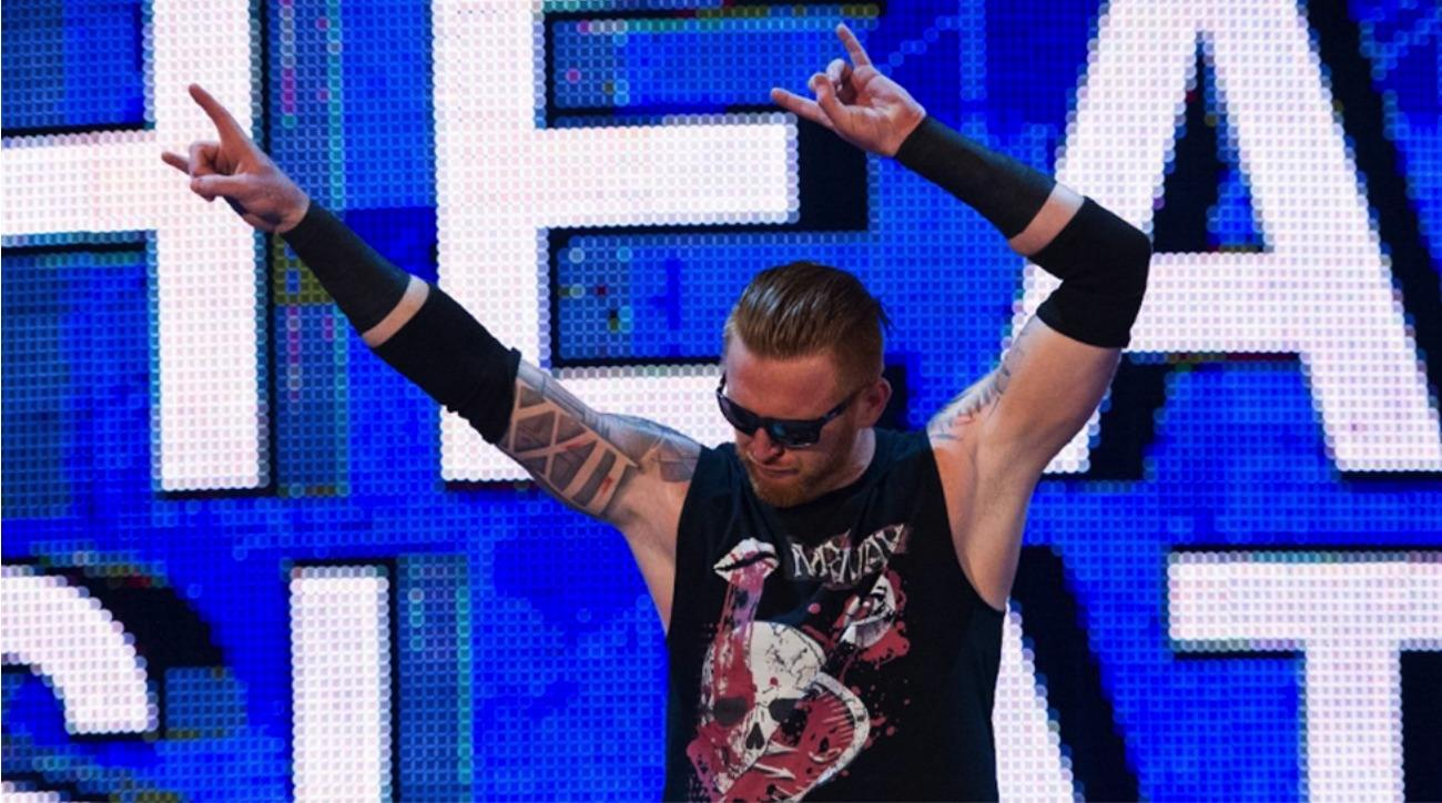 Heath Slater looks good while losing