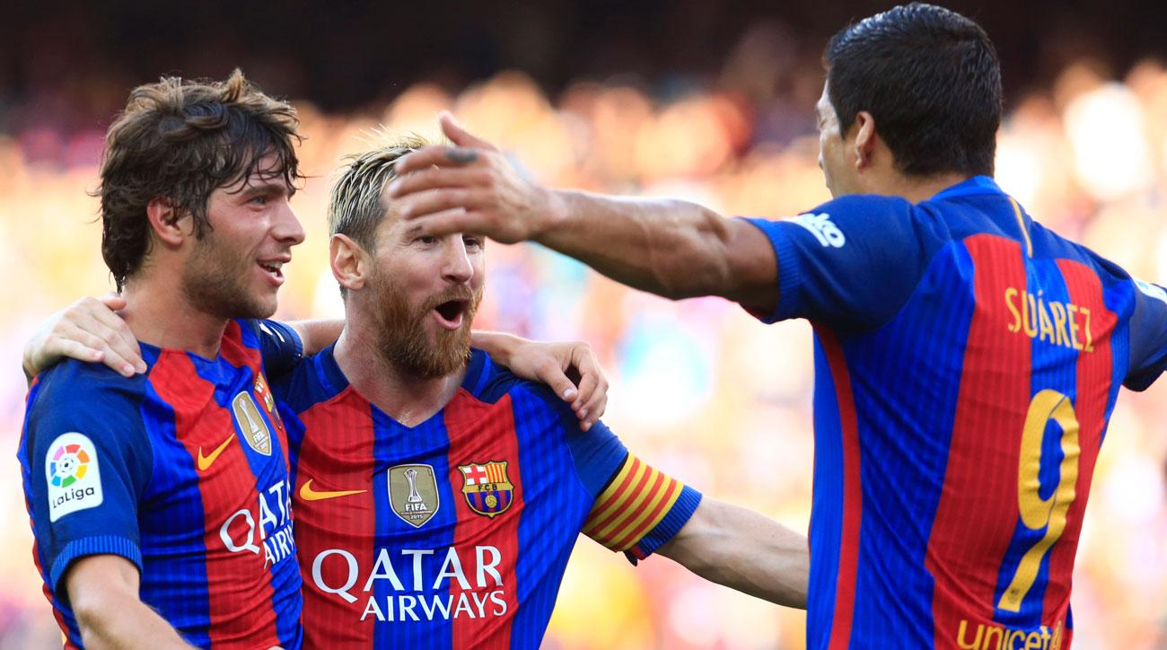Lionel Messi, Luis Suarez star for Barcelona in a season-opening win