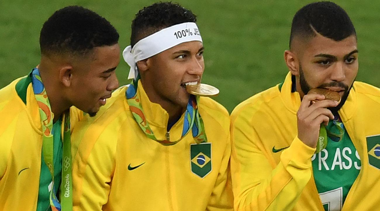 Neymar and Brazil won the Olympic gold medal