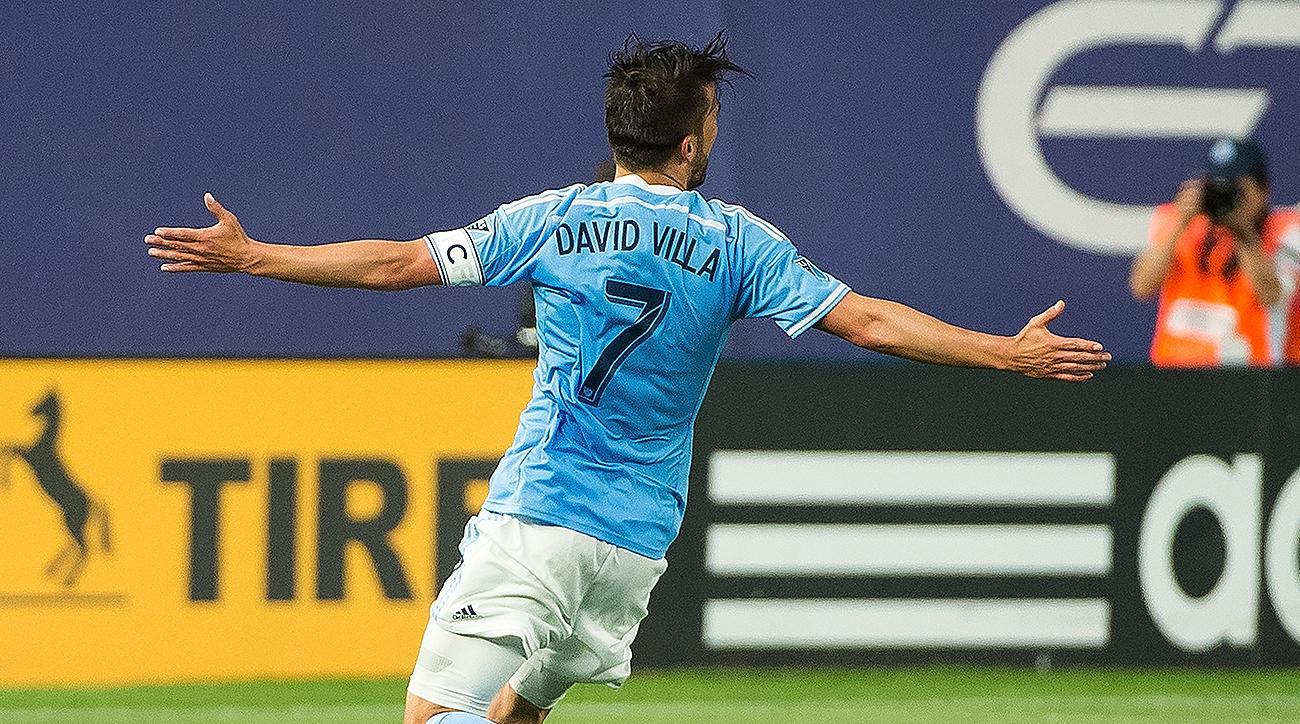 NYCFC David Villa
