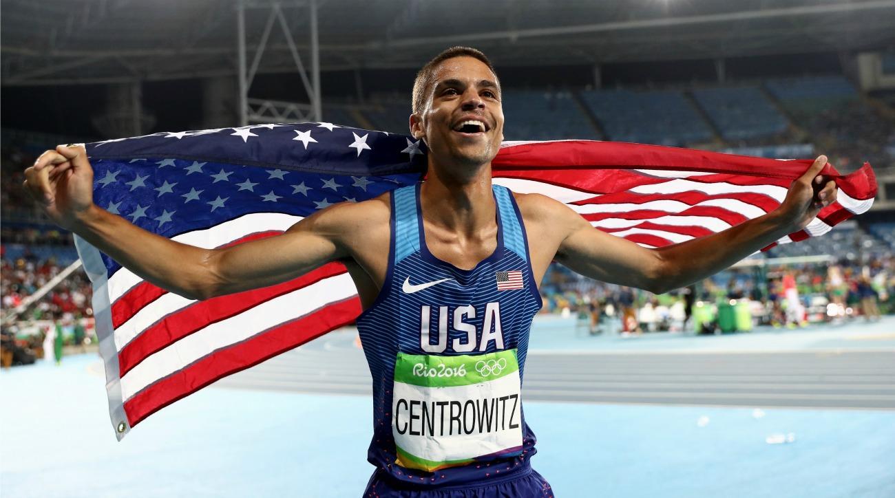 USA's Matt Centrowitz wins gold