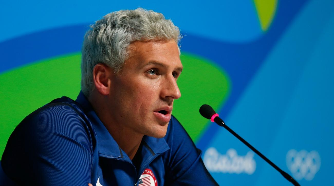 Ryan Lochte has given his first post-rio interview
