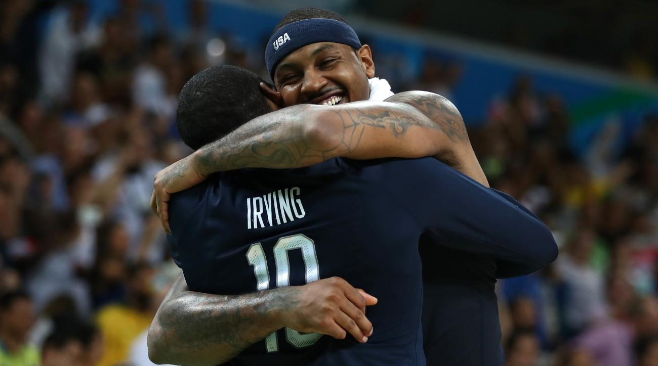 carmelo anthony retiring usa basketball gold medal